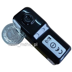 Mini kamera IP Wi-Fi do ukrycia, 1280x720, 4 GB, MINI WI-FI Camera, P2P, MD81S