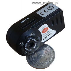Mini kamera IP Wi-Fi do ukrycia, DZIEŃ/NOC, 1280x720, 4 GB, MINI WI-FI Camera, P2P, Q7